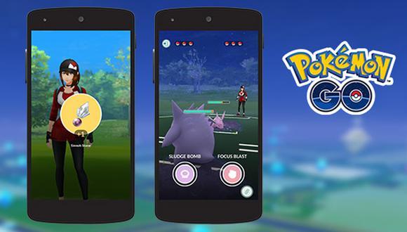 De esta forma es como se desarrollarán las batallas Pokémon GO online. (Foto: Nintendo)