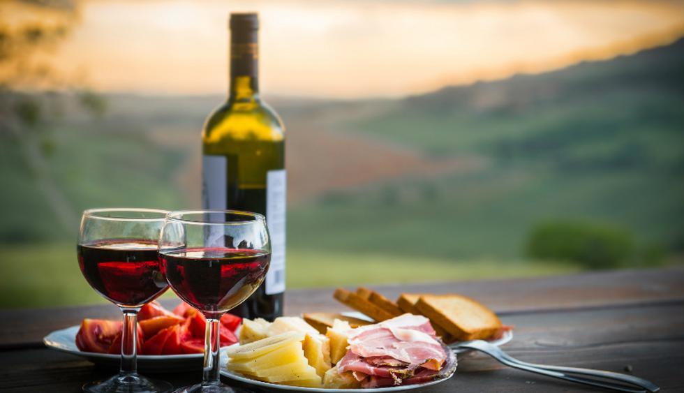 Los vinos de Chianti se elaboran con uvas Sangiovese.  (Foto: Shutterstock)