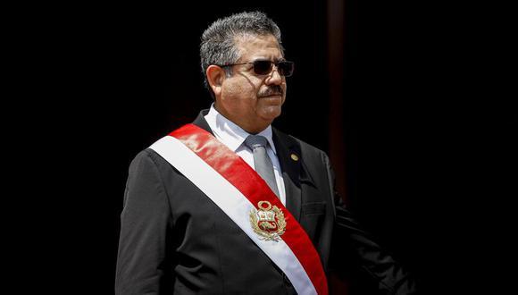 Manuel Merino de Lama, congresista de Acción Popular, viajó este domingo a Estados Unidos. Asumió la Presidencia en noviembre por cinco días. (Foto: Presidencia)