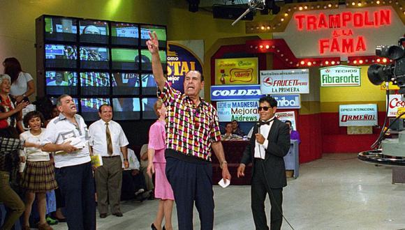 """Augusto Ferrando visitó los hogares peruanos por tres décadas con su programa """"Trampolín a la fama"""". Este 5 de mayo falleció su último hijo, Juan Carlos Ferrando. (Foto: Archivo de El Comercio)"""