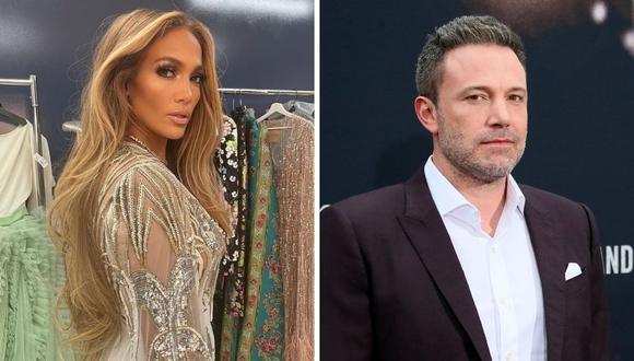 Jennifer Lopez y Ben Affleck volvieron a juntarse tras 17 años de cancelar su boda y se muestran inseparables. (Foto: Instagram @jlo / Jean-Baptiste Lacroix / AFP)