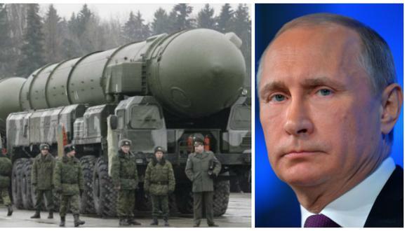 Putin suspende pacto con Estados Unidos sobre plutonio militar