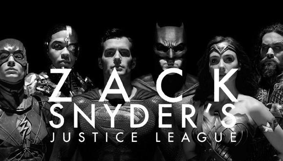 """""""Zack Snyder's Justice League"""" será una versión extendida de la película. Foto: HBO Max."""