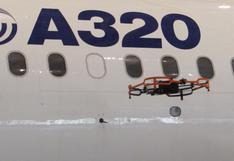 Utilizarán drones para inspeccionar otros aviones y ahorrar tiempo