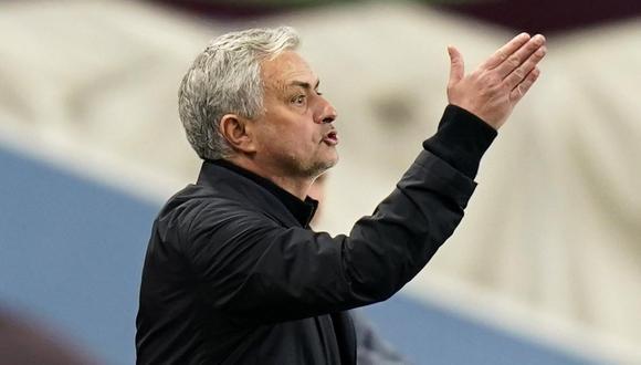 José Mourinho respondió a los críticos que cuestionan su labor con Tottenham. (Foto: Reuters)