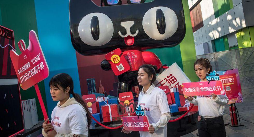 El festival surgió en 2009 con la participación de sólo 27 comercios y una recaudación de apenas 52 millones de yuanes. (Foto: EFE)