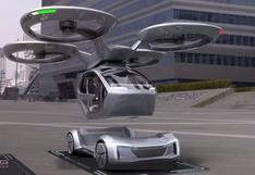 Pop Up Next, el auto autónomo volador que puede transportar personas