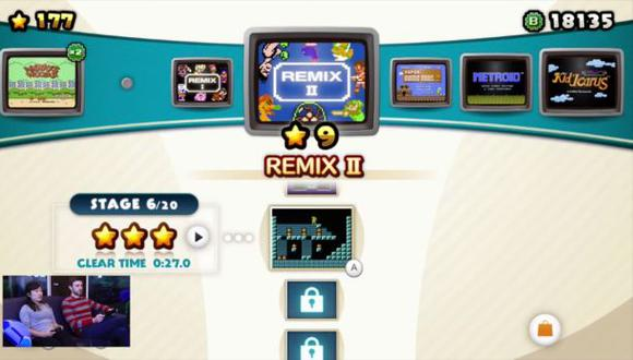 Nintendo te muestra un extenso tráiler de NES Remix 2