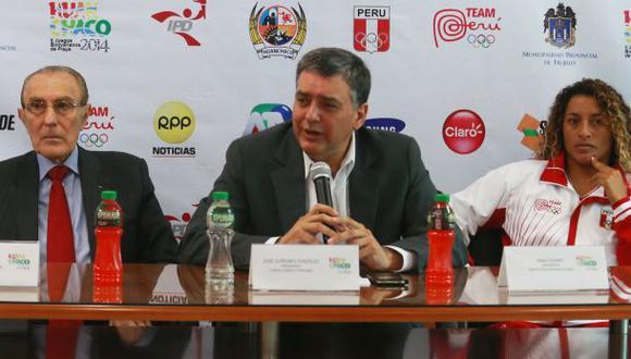 José Quiñones renunció al Comité Olímpico Peruano