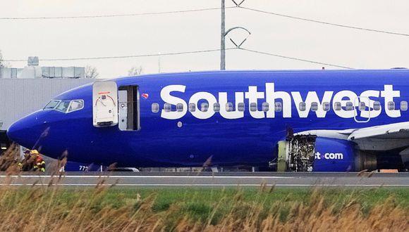 Estados Unidos: Muere una persona por explosión en motor de avión de Southwest Airlines. (Reuters).
