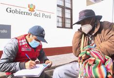 Huancavelica: 626 habitantes de zonas rurales son empadronados para actualización de DNI