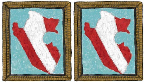 """""""La realidad no calza con el cuento de dos mundos separados. Para empezar, hay """"dos"""" o más en cada pueblo, en cada comunidad"""" (Ilustración: Víctor Aguilar Rúa)."""