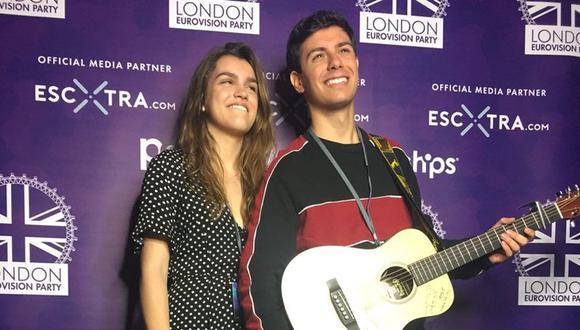 Alfred y Amaia, representantes de España en Eurovisión 2018. (Foto: Twitter)
