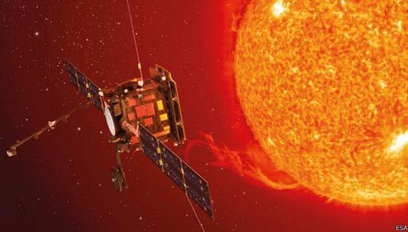 Esta ilustración nos permite hacernos una idea de cómo será el Solar Orbiter, a lanzarse en dirección al Sol en 2018.