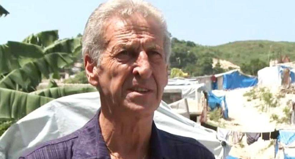 Roland van Hauwermeiren, ex director belga de Oxfam en Haití y Chad. (Captura de video)