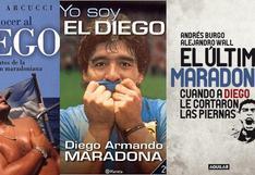 Maradona: doce libros para entender por qué lo aman y lo odian y cómo encontrarlos en Perú