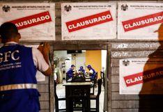 Municipalidad de Lima y Policía Nacional clausuraron cantinas del Cercado