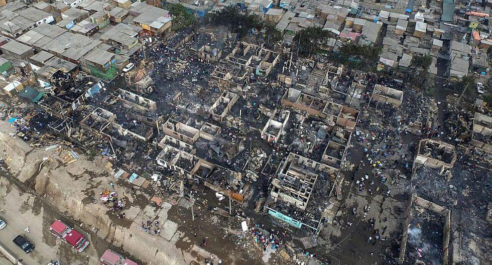 Incendio en Cantagallo: fotos aéreas de lo que dejó siniestro - 9