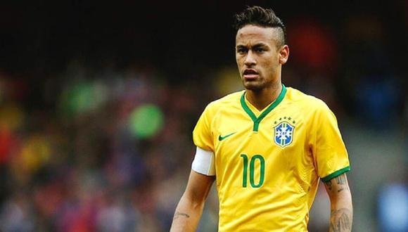 Neymar no jugará ante Venezuela. (Foto: AFP)