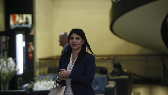 Silvana Carrión participará en un evento de la OCDE del 9 al 13 de este mes en París, Francia. (Foto: GEC)