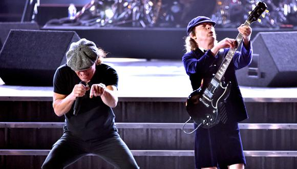 "AC/DC encendió los Grammy con ""Highway to Hell"""
