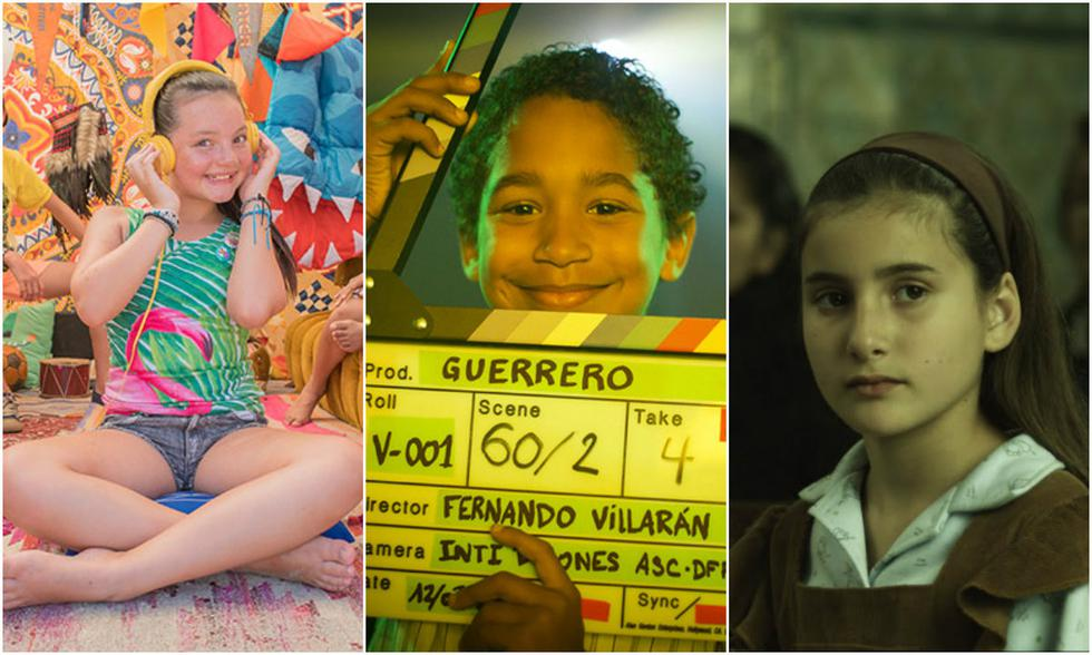Protagonistas infantiles del cine peruano (Foto: Difusión)