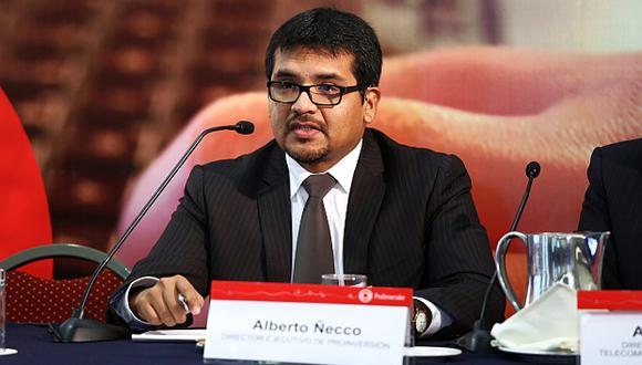 Alberto Ñecco, presidente de Pro Inversión,