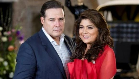 Con el tiempo, César Évora y Victoria Ruffo se convirtieron en una clásica pareja de las telenovelas mexicanas (Foto: Televisa)