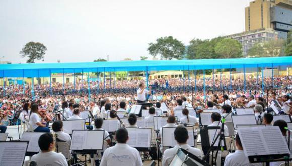 Sinfónica Nacional se presentará hoy en el Campo de Marte