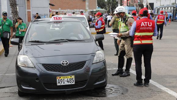 Los taxistas deberán cumplir las disposiciones de la ATU. (Imagen referencial/Archivo)