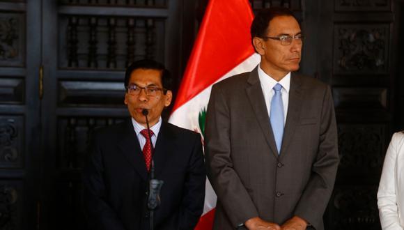 Los diálogos permiten apreciar el vínculo y confianza que mantenían Martín Vizcarra y José Hernández. (Foto: Luis Centurión)