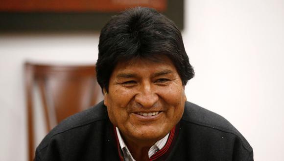 Evo Morales, presidente de Bolivia. (REUTERS/David Mercado).
