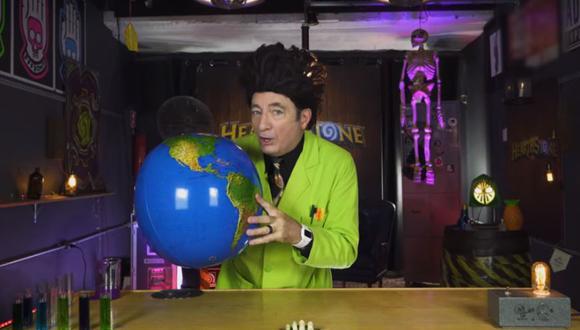 """Este es un nuevo capítulo de """"El Mundo de Beakman"""", un programa sobre ciencias muy famoso en los 90's . (YouTube)"""