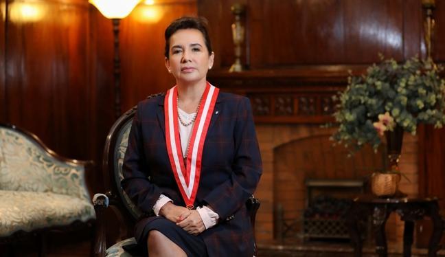 Elvia Barrios dijo que el caso del gas de Camisea podría judicializarse. (Foto: archivo GEC)