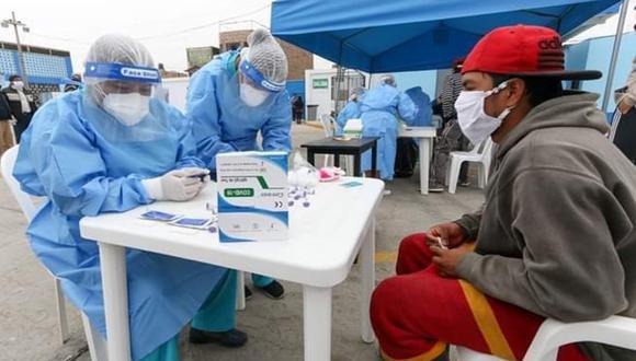 Ica y Arequipa tienen la tasa de contagio más alta. Su Rt está por encima del número 1 (Foto Gore Ica)