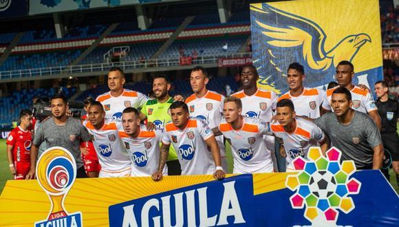 Envigado chocará con Jaguares de Córdoba por la Primera A de Colombia. Conoce los horarios y canales de todos los partidos de hoy, martes 8 de octubre. (Twitter: @EnvigadoFC)