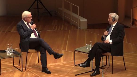 "Vargas Llosa : ""Literature creates citizens much more difficult to manipulate"" 10/09/2020"