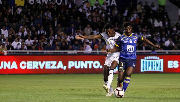 LDU y Delfín buscan el título de la Liga Pro. (Foto: @LigaProEC)
