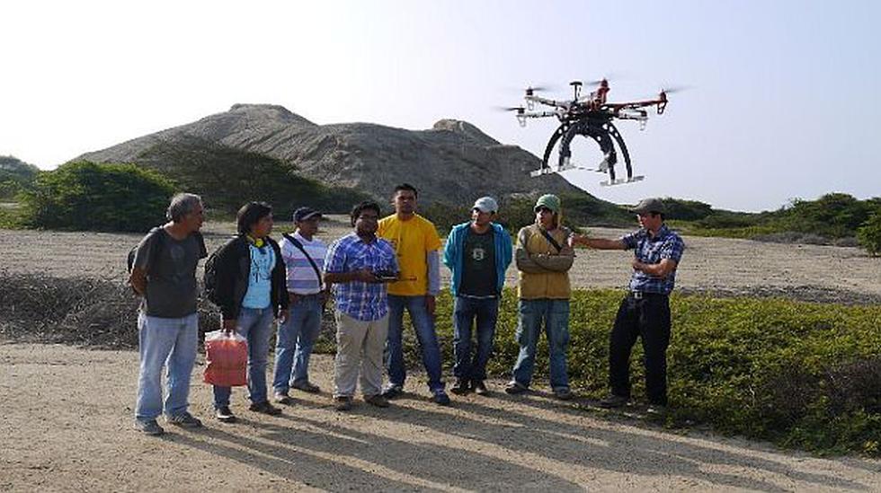 Fotografían con drones la impresionante ciudadela de Chan Chan - 2