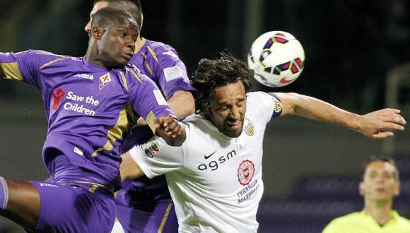 Fiorentina cayó 1-0 ante Verona a los 89' por la Serie A