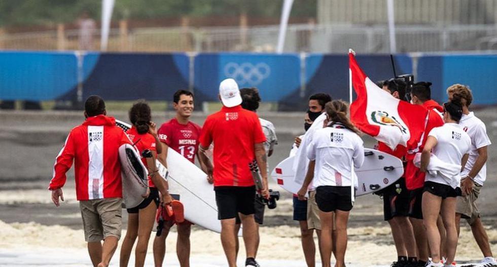 El Team Perú se mostró unido en todo momento. (Foto: Facebook Lucca Mesinas)