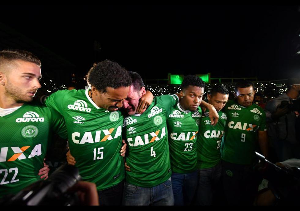 Chapecoense: las conmovedoras imágenes de los homenajes - 2