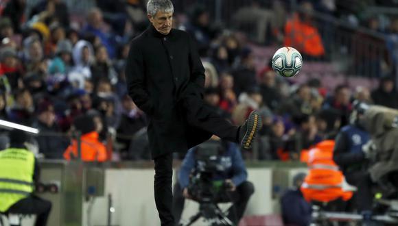 Setién arremetió contra Real Madrid (Foto: AP)