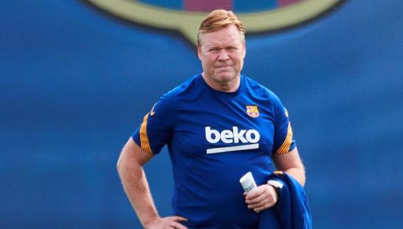 Ronald Koeman tiene el deseo de seguir dirigiendo a Barcelona en la próxima temporada. (Foto: EFE)