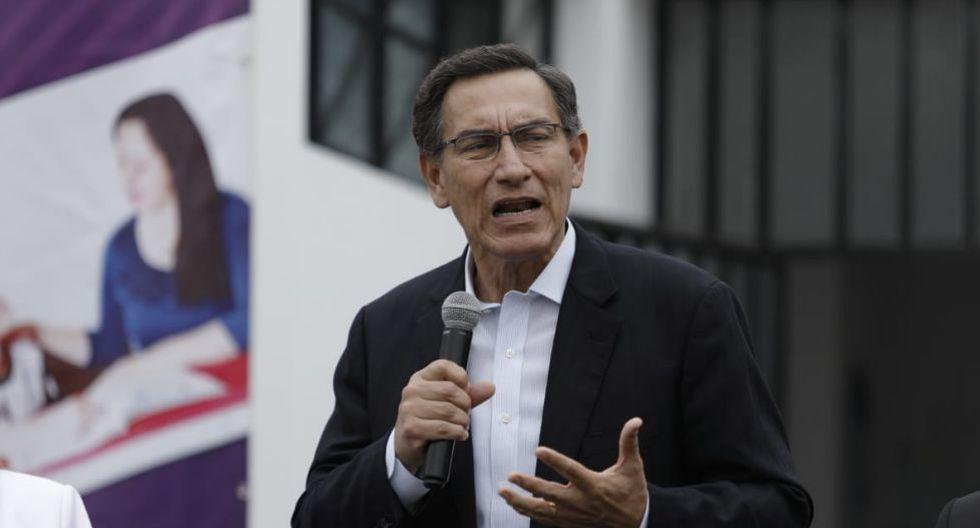 El presidente Martín Vizcarra reiteró que respetarán las decisiones que tome el Tribunal Constitucional. (Foto: Antonhy Niño de Guzmán/GEC)