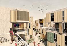 Presentan propuesta de vivienda para la comunidad shipibo-konibo de Cantagallo