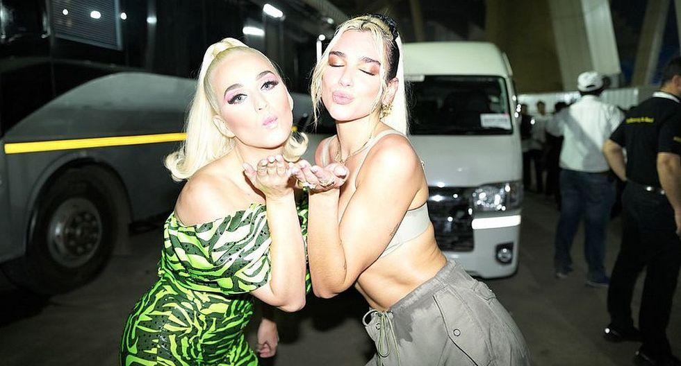 Katy Perry comparte fotografías junto a Dua Lipa y le demuestra su gran admiración con tierno mensaje. (Foto: @dualipa)