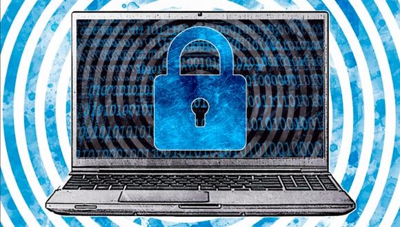 """""""La GCSC propuso ocho normas para resolver las falencias en los principios declarados anteriormente, con énfasis en cuestiones técnicas que son fundamentales para la ciberestabilidad"""". (Ilustración: Rolando Pinillos)"""