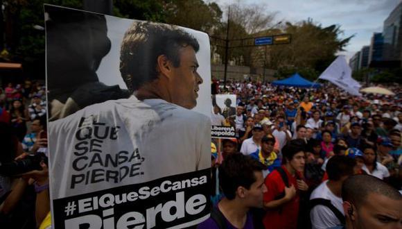 Venezuela: Difieren otra vez la audiencia de Leopoldo López