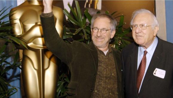 Murió Arnold Spielberg, padre del cineasta Steven Spielberg, a los 103 años por causas naturales. (Foto: SUSAN GOLDMAN / AFP)